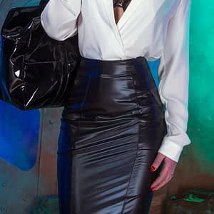 Patrice Catanzaro Melanie Wetlook Skirt