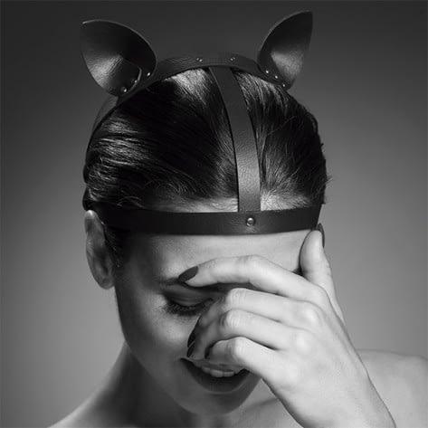 Maze Cat Ears Headpiece Black